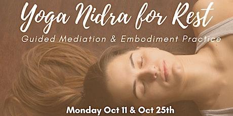 Yoga Nidra for Rest Tickets