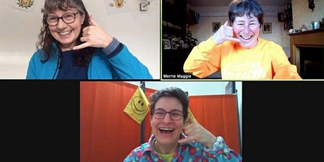 Laughter Yoga  -  Thursday 7pm UK-  VIRTUAL - Laughter for the health of it tickets