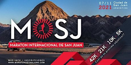 5km Maratón Internacional de San Juan 2021 entradas