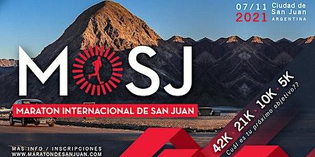 10KM Maratón Internacional de San Juan 2021 entradas