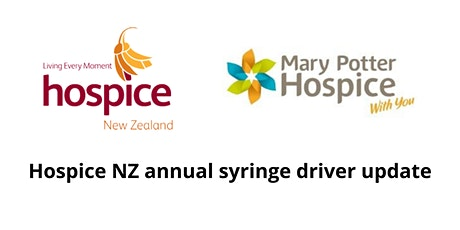 Kāpiti | Hospice NZ annual syringe driver update tickets