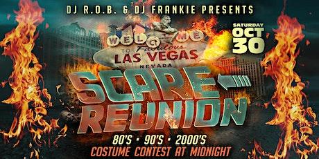 DJ R.O.B. & DJ FRANKIE PRESENTS - SCARE-REUNION HALLOWEEN PARTY tickets