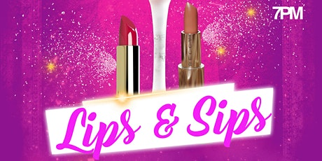 Lips & Sips with Lip Print Beauty Bar- Lipstick making party! tickets