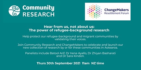 Hear from us, not about us: The power of refugee-background research tickets