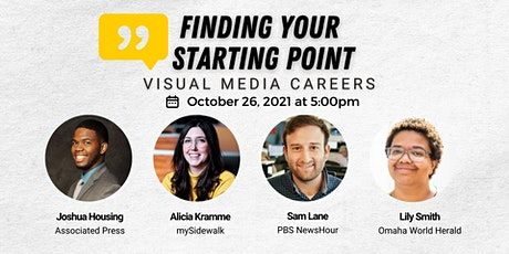 Finding Your Starting Point: Visual Media Careers tickets