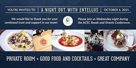 Entellus Client Appreciation Dinner tickets
