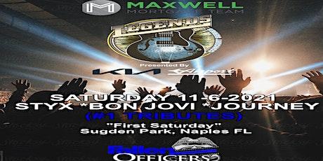 The Maxwell Mortgage Legends Concert Series -Styx- Bon Jovi- Journey 11-6 tickets