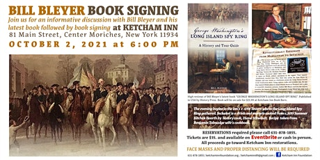 Author Bill Bleyer Book Signing tickets