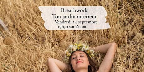 Breathwork - ton jardin intérieur billets