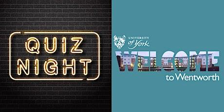 Wentworth  Online Pub Quiz! tickets