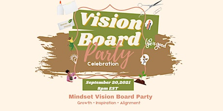 Mindset Vision Board Party tickets
