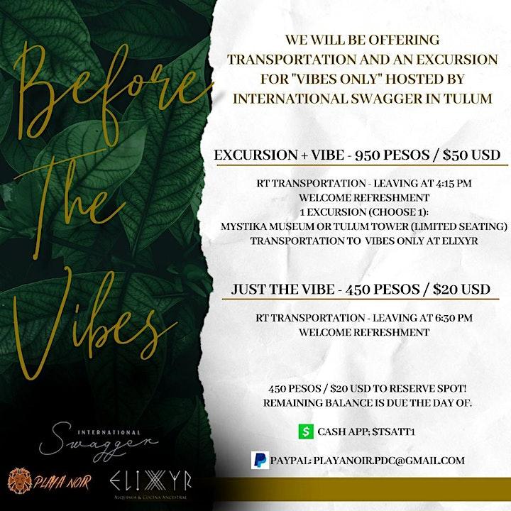 Vibes Only  ⦿ Dine & Dance ⦿ Elixyr Tulum image