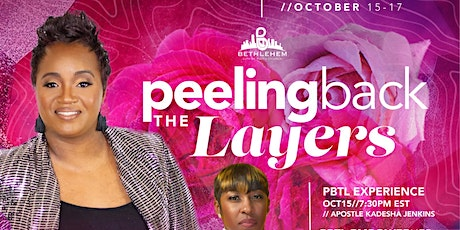 More Than Conquers  Women's Conference : Peeling Back the Layers tickets