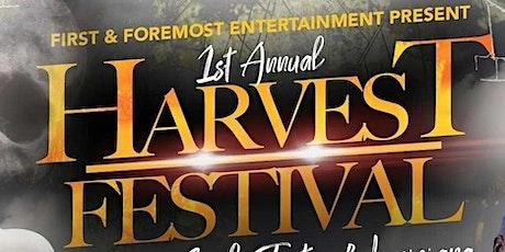 1st Annual Harvest Festival-Halloween Edition tickets