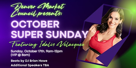 Colorado Beachbody Super Sunday Featuring Idalis Velazquez tickets
