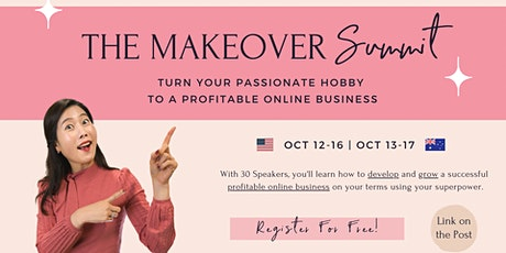 ✨FREE Summit to Turn Your Passionate Hobby to a Profitable Online Business✨ tickets