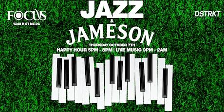 Jazz x Jameson: Happy Hour | Dinner | Live Jazz & R&B tickets