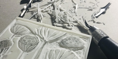 Printmaking - Linocut Printing with Anne Kable tickets