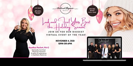 Natural Elegance Beauty MedSpa Virtual Holiday Event tickets
