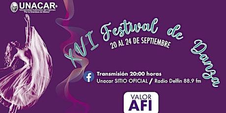 XVI Festival de Danza Carmen 2021 boletos