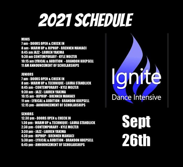 IGNITE DANCE INTENSIVE 2021 image