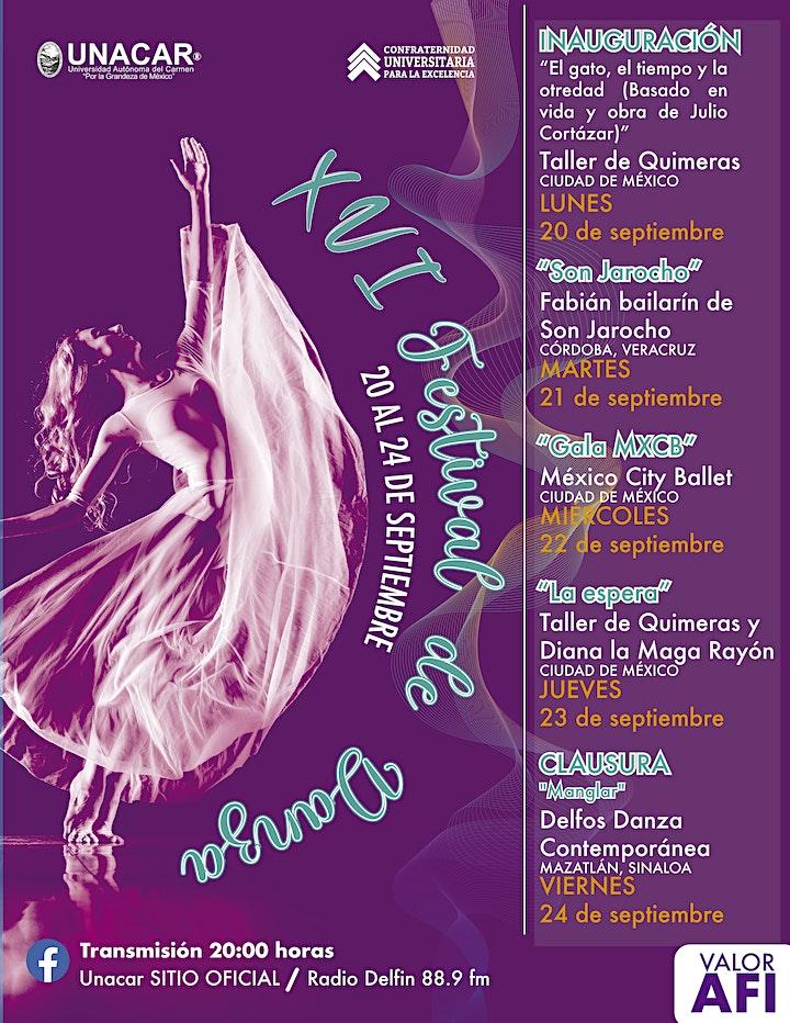 Imagen de XVI Festival de Danza Carmen 2021