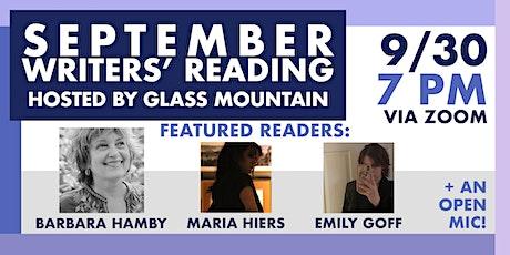 Glass Mountain — September Reading [via Zoom] tickets