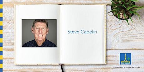 Meet Steve Capelin - Fairfield Library tickets