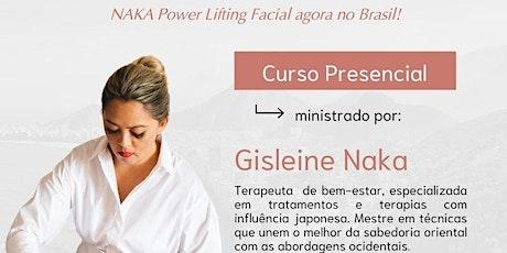 NAKA Power Lifting Facial Presencial ingressos