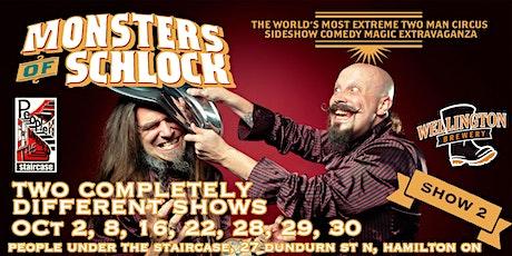 The Monsters of Schlock - Show 2 - Klopek's Comedy Kitchen! tickets