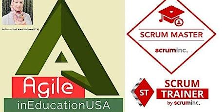 Scrum Master by Scrum Inc. (SMSI) Certification Training tickets