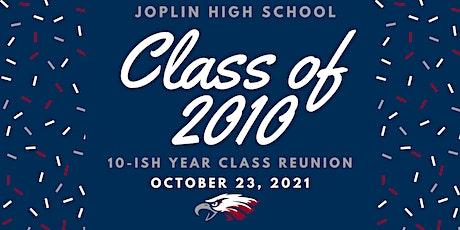 JHS Class of 2010 Reunion tickets