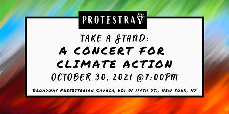 Take a Stand: A Concert for Climate Action tickets