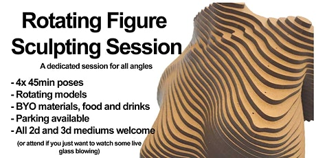 Rotating Figure Sculpting Session tickets