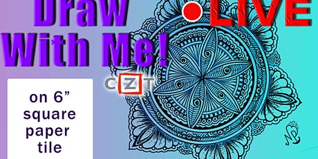 Mandala   Draw With Nidhi   Free Art Session tickets