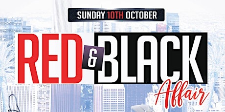 RED & BLACK AFFAIR (YACHT PARTY) tickets