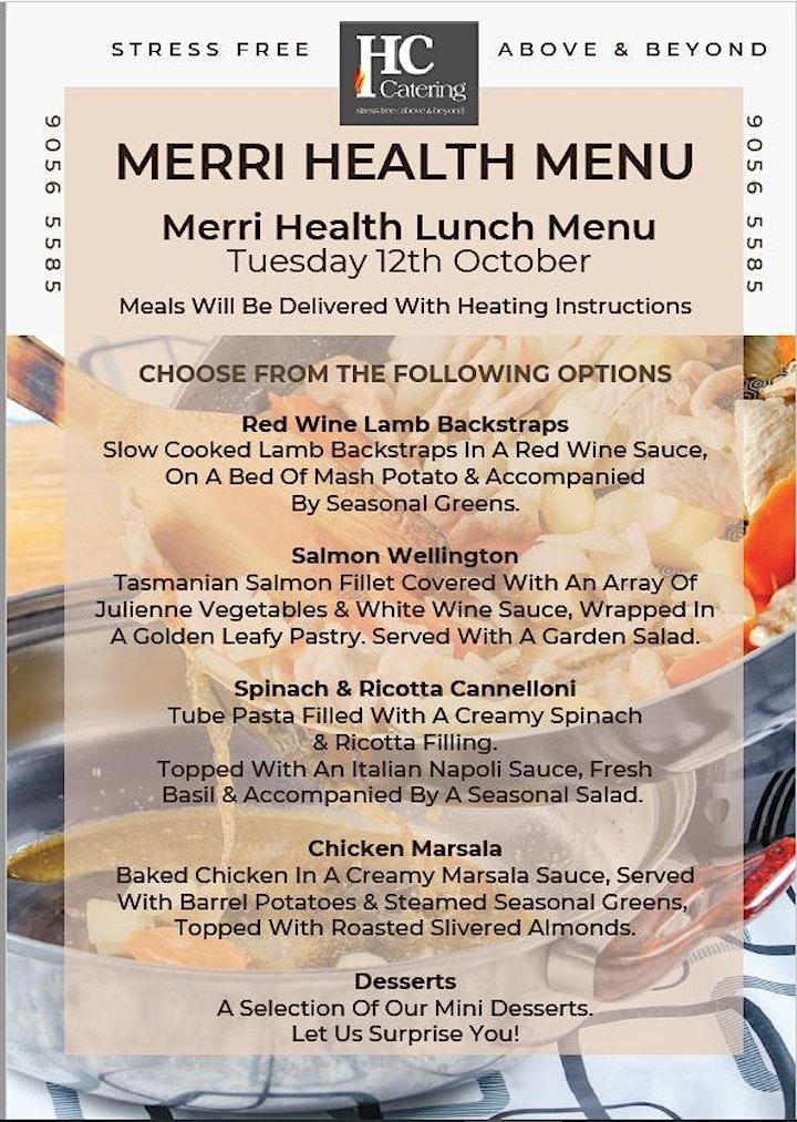 Merri Health Carers Week 2021 Laugh & Lunch Online Event image