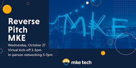 Reverse Pitch MKE Kickoff tickets