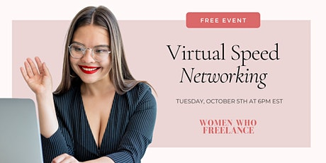 Virtual Speed Networking with Women Who Freelance tickets