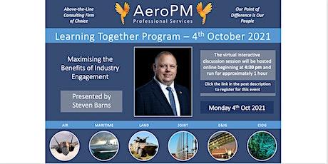 AeroPM Learning Together Program - October 2021 tickets
