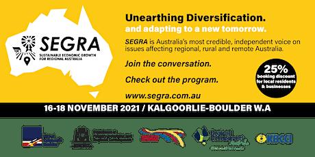 SEGRA 2021 Kalgoorlie-Boulder Full Conference tickets