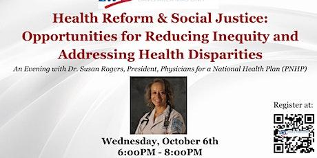 Forum: Opportunities for Reducing Inequity & Addressing Health Disparities tickets