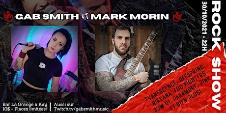 Gab Smith & Mark Morin Live show tickets