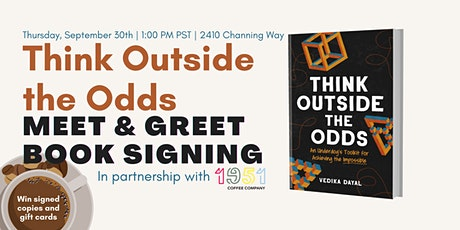 Think Outside the Odds Live Meet & Greet Book Signing tickets