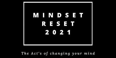Mindset Reset 2021 tickets