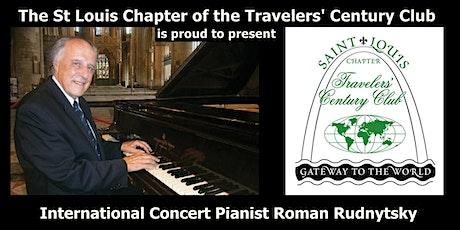 International Concert Pianist Roman Rudnytsky in Concert tickets