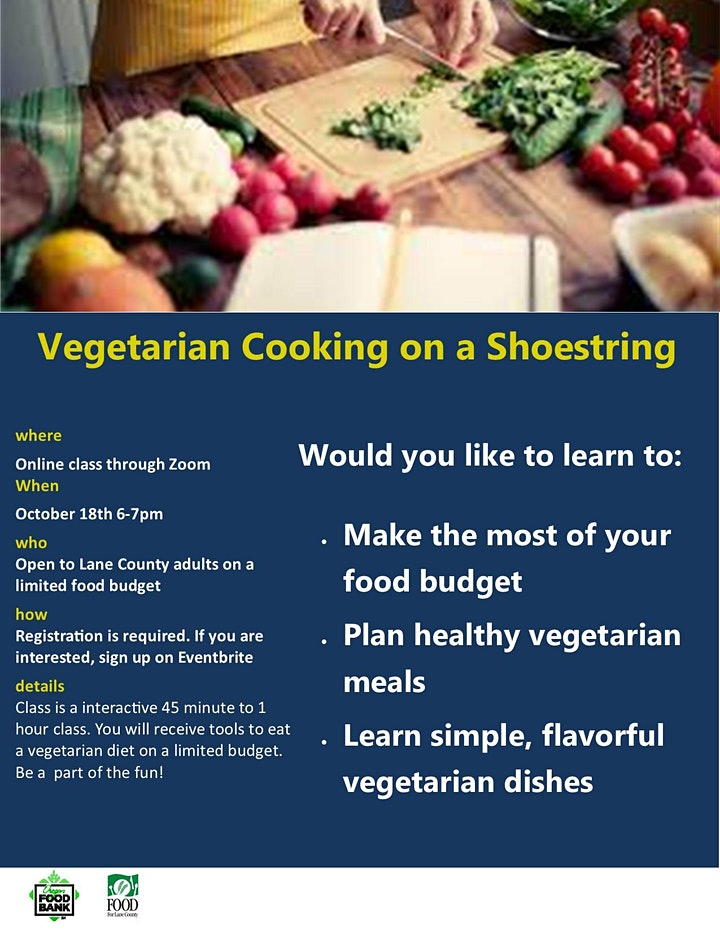 Vegetarian Cooking on a Shoestring image
