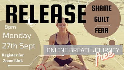 RELEASE...  Online Breath Event (FREE!) tickets