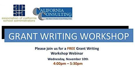 ACSA Region 6 Grant Writing Workshop tickets