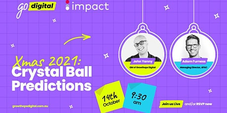 GrowthOps Digital: Christmas 2021 Crystal Ball Predictions for Retail tickets